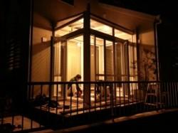 ガーデンルーム 照明