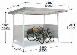イナバ自転車置き場2